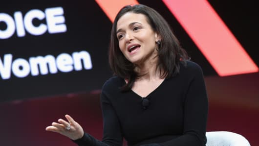 Chief Operating Officer, Facebook, Sheryl Sandberg