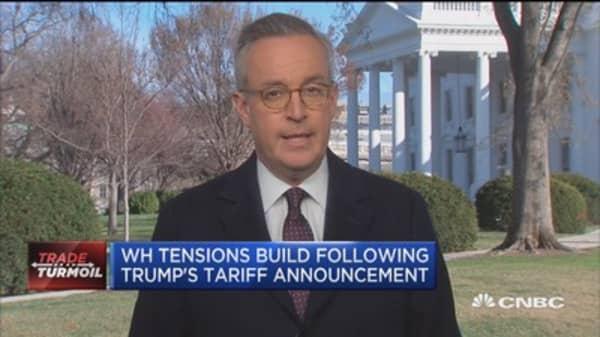 Tariff tensions build post Trump announcement