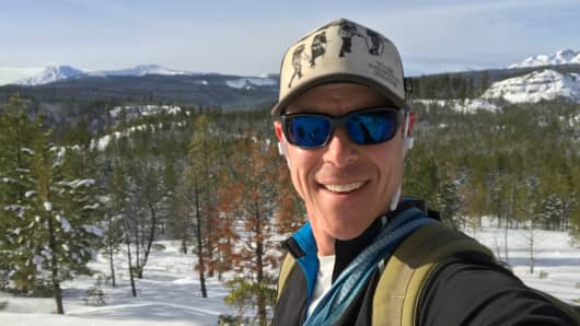 Matt Abrams enjoys the great outdoors in Bend, Oregon.