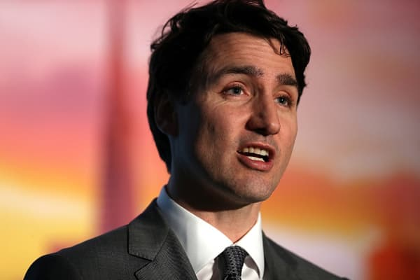 Canada's Justin Trudeau: Tariffs 'absolutely unacceptable'
