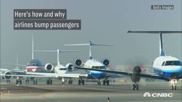 Here's how and why airlines bump passengers