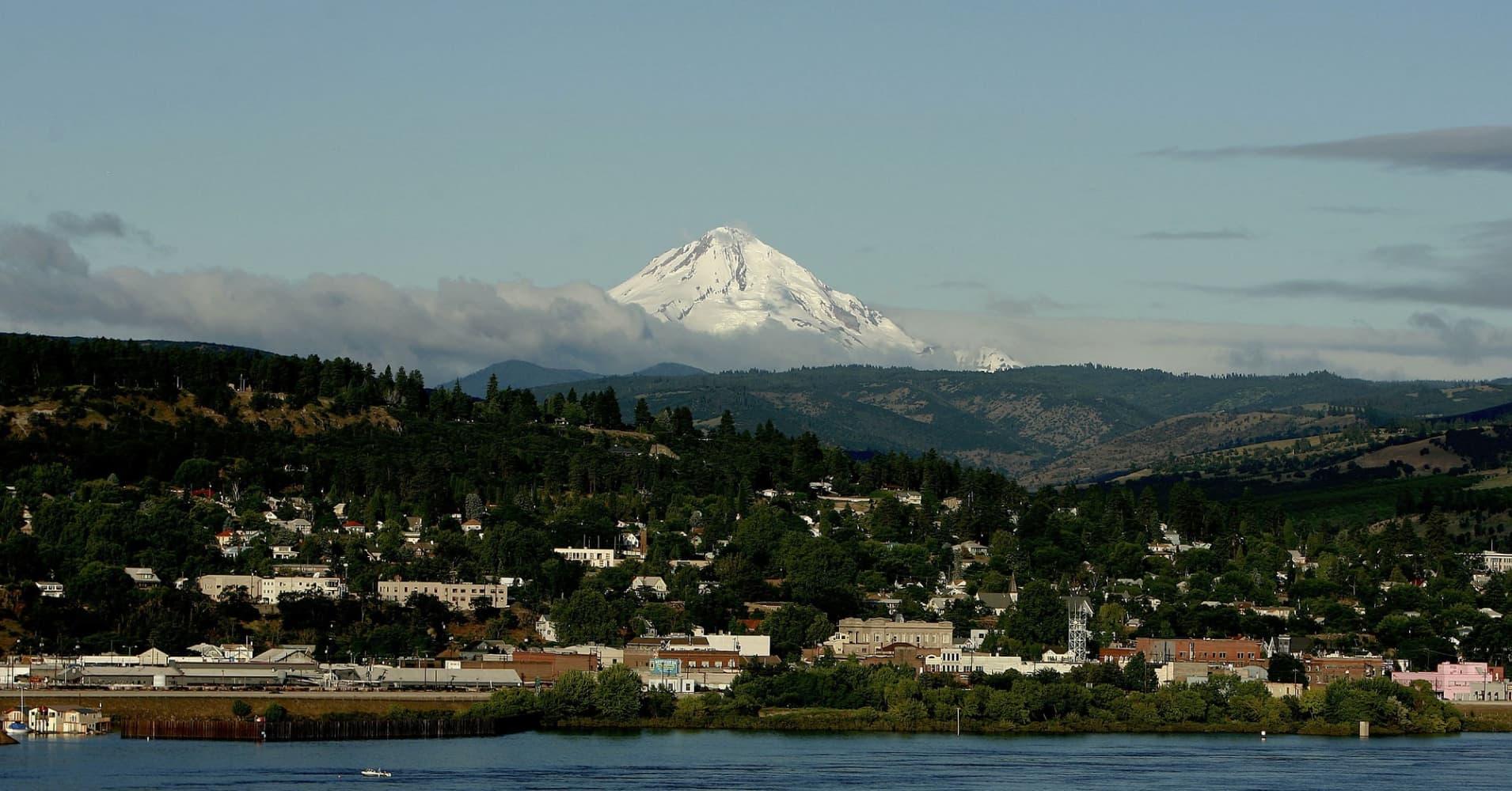 Mount Hood in Oregon