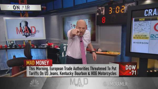 Cramer's game plan: Earnings tainted by Trump tariffs