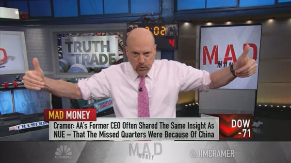 Cramer parses the numbers behind Trump's steel and aluminum tariffs