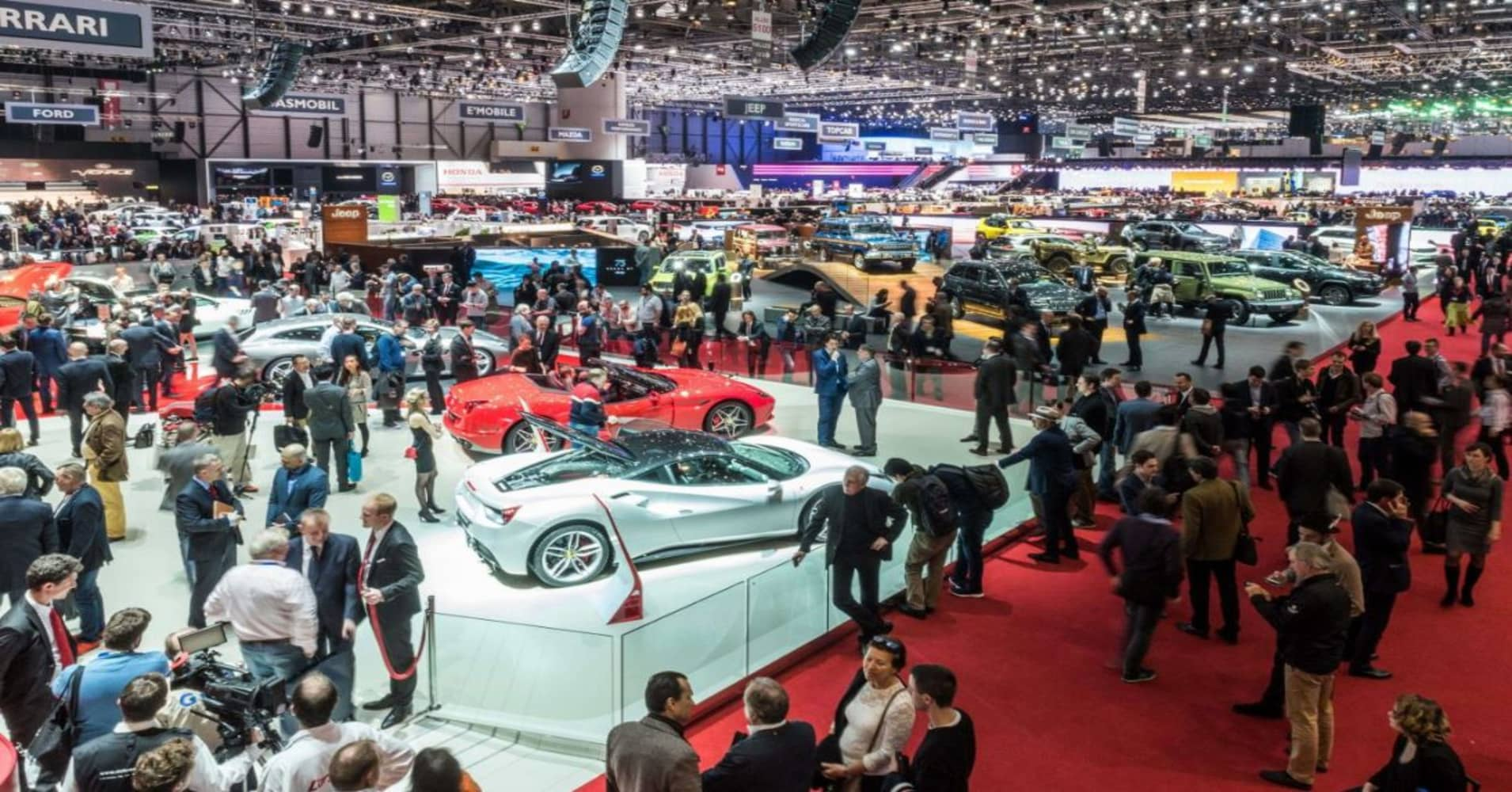 Geneva Motor Show Worlds Best And Newest Cars Are On Display In - Geneva car show