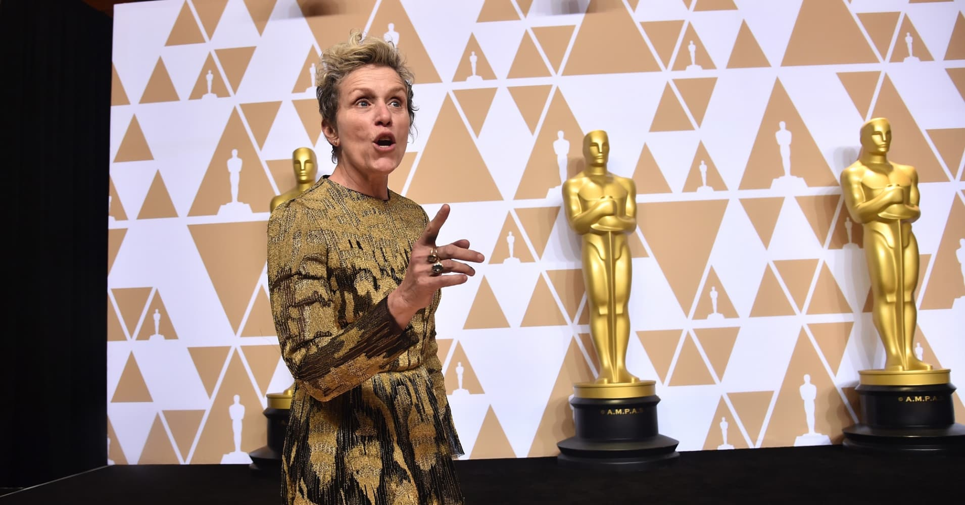 Oscar-winner Frances McDormand encourages actors to push for 'inclusion riders'—here's what that means