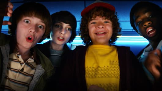 "A still from ""Stranger Things"" on Netflix."