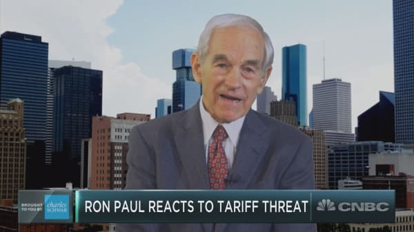 Trump tariff or no tariff, Ron Paul warns a 'calamity' will hit stocks