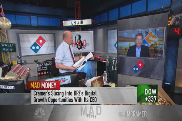 Domino's Pizza CEO: 'We're investing aggressively' in driverless cars, timeline of 3-5 years