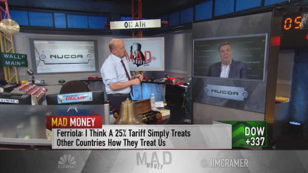 Nucor Ceo Trump Tariffs Are Treating Countries How They Treat Us