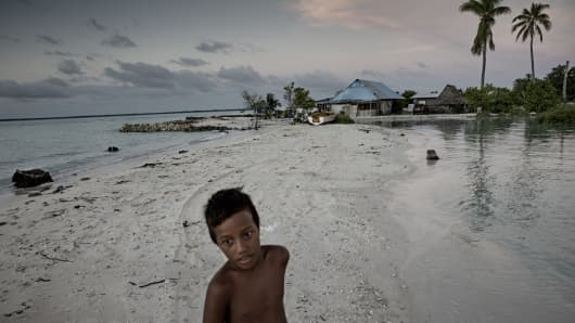 Eita, South Tarawa, Kiribati.