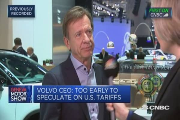 Not likely to develop new generation of diesel engines, says Volvo CEO