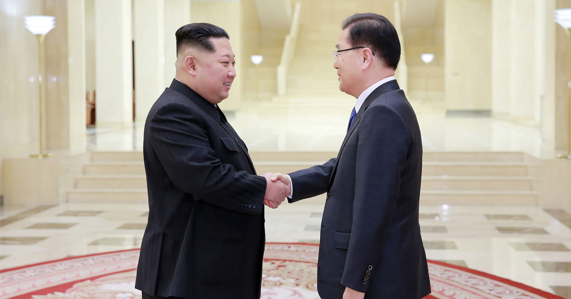 South North Korea To Hold Summit In April South Korea Says
