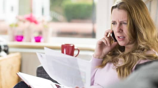 Financial schemes and scams were most frequently reported to have stemmed from a phone call.