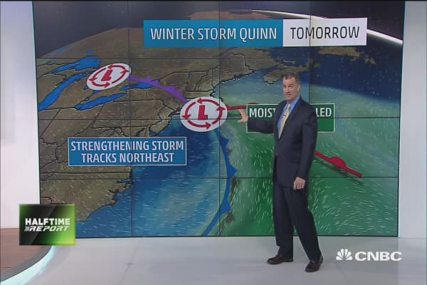 East coast braces for monster noreaster