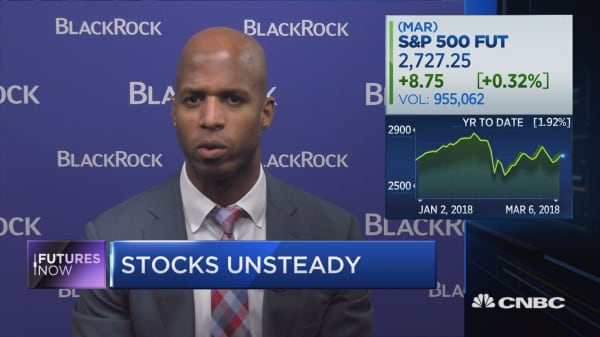 BlackRock's biggest market risk isn't inflation… it's a trade war