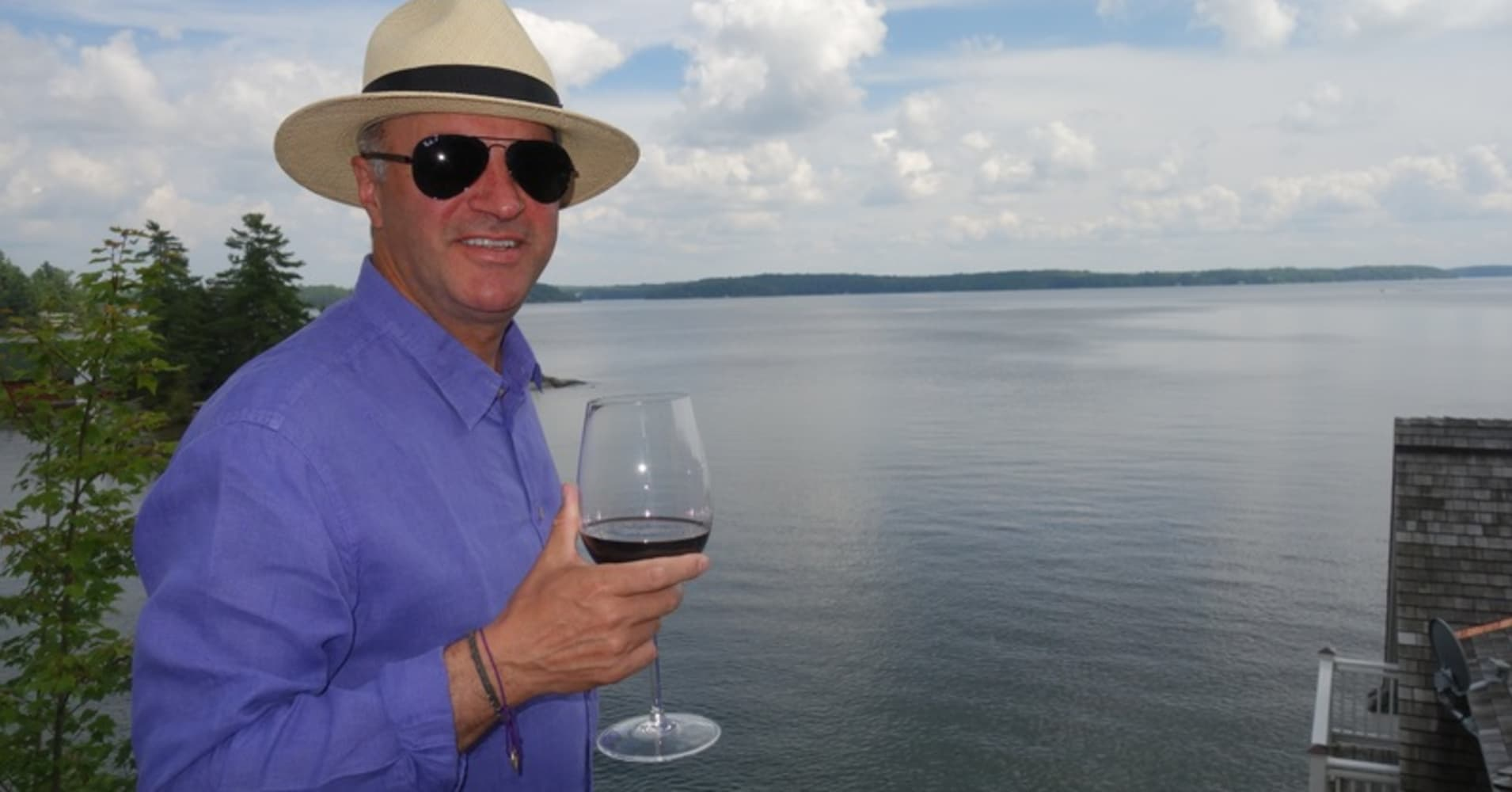Kevin O Leary Wine Drinking Group