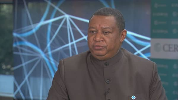 Mohammad Barkindo discusses the oil industry's need for capital