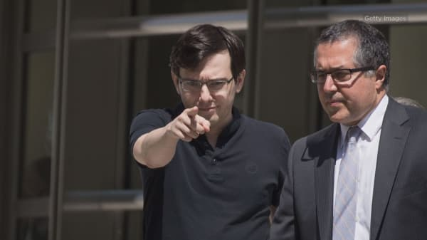 Prosecutors ask judge to put 'pharma bro' Martin Shkreli in prison for at least 15 years