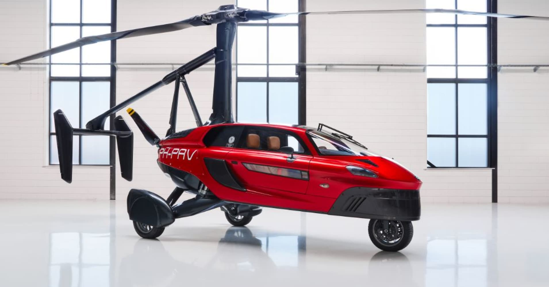 Flying car ready to buy unveiled at Geneva Motor Show