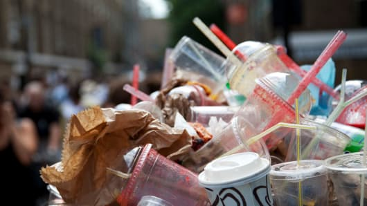 California may ban plastic straws and detachable plastic bottle caps.
