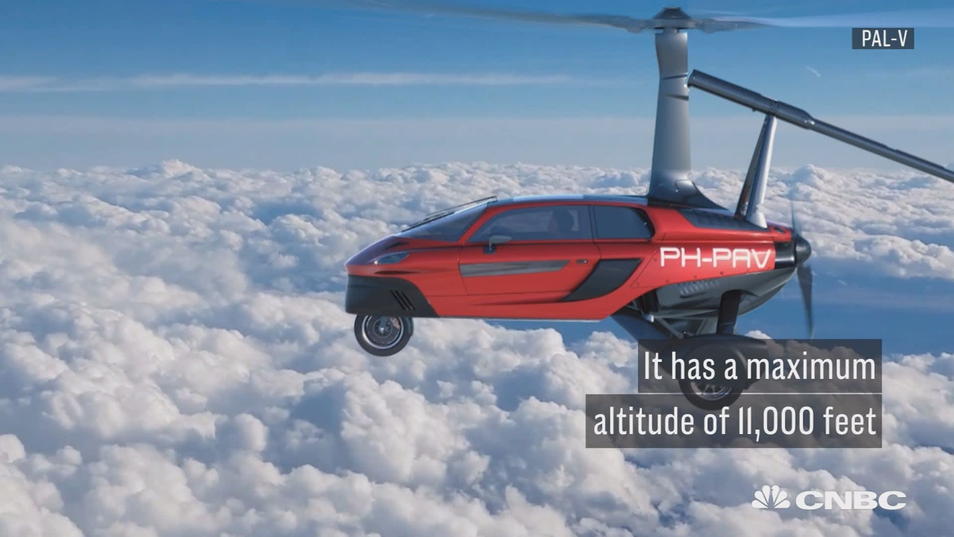 Flying car ready to unveiled at Geneva Motor Show