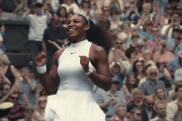 Serena Williams, who stars in a Nike advert on International Women's Day 2018