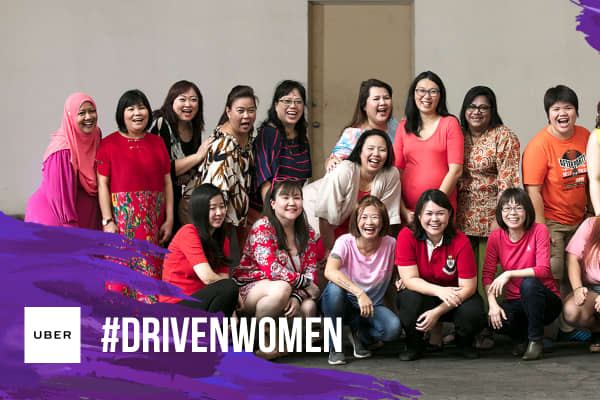 Uber is running a film celebrating International Women's Day in Asia-Pacific countries