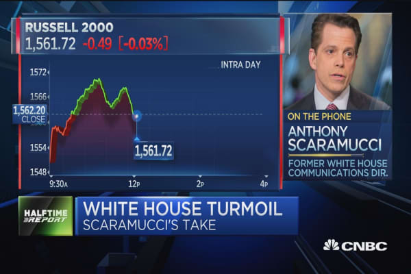 Anthony Scaramucci discusses conflict and talent inside the White House