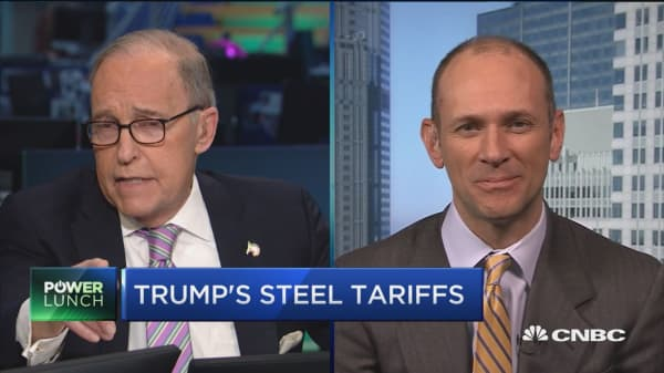 Could CNBC's larry Kudlow replace Gary Cohn?