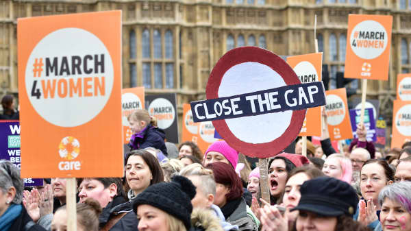 What does equal pay mean for the economy?