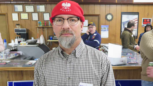 David Podurgiel, a Rick Saccone supporter