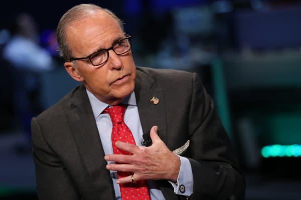 Larry Kudlow: Market still suffering from trade war jitters