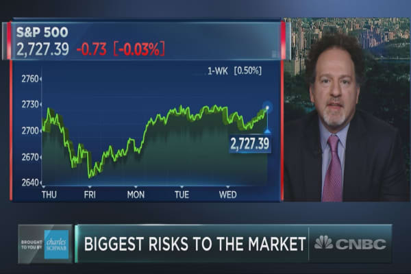 Too much 'fear and anxiety' is penetrating Wall Street, market watcher Zachary Karabell says