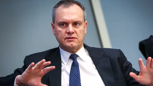Darius Adamczyk, chief executive officer of Honeywell International Inc.