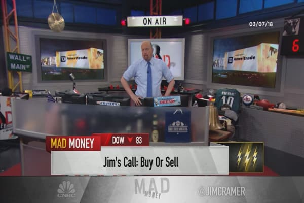 Cramer's lightning round: Why Microsoft is one of my absolute favorite stocks