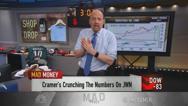 Cramer recommends Nordstrom