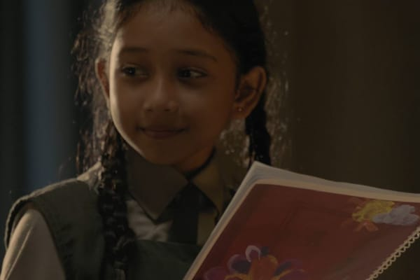 HP has made a short film starring schoolgirl Paro for International Women's Day