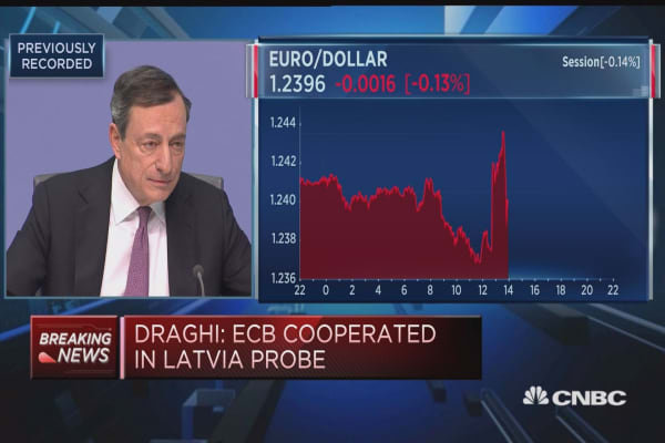 The current situation on anti-money laundering isn't satisfactory: ECB
