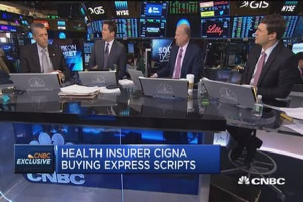 Cigna CEO: Express Scripts deal drives choices for our customers