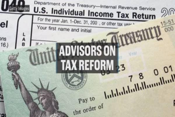 Advisors on tax reform