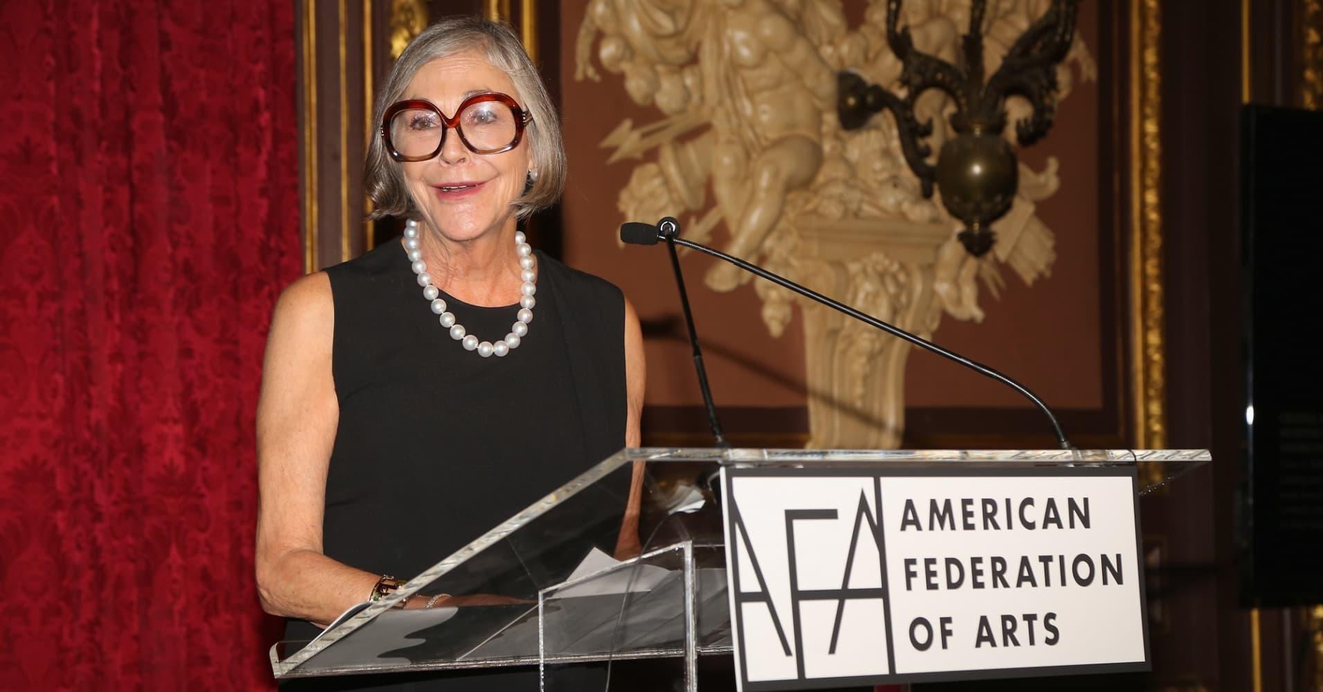 Alice Walton at the Metropolitan Club on November 1, 2016 in New York City.