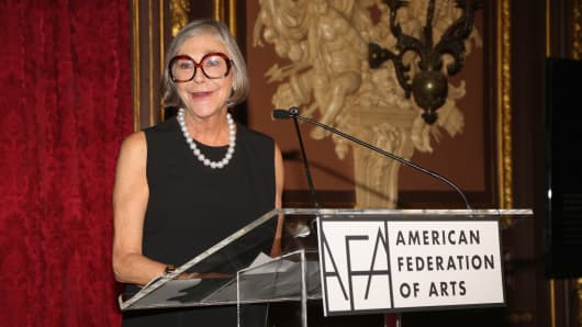 Alice Walton at the Metropolitan Club on November 1, 2016 in New York City.