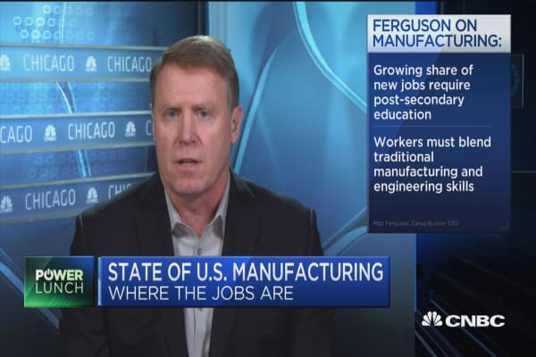 Automation and technology having a big impact on manufacturing CEO Career builder