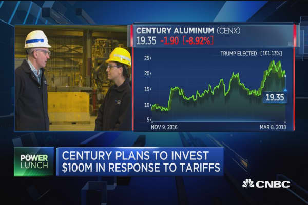 Century Aluminum CEO: Why the tariffs will be extraordinary for us