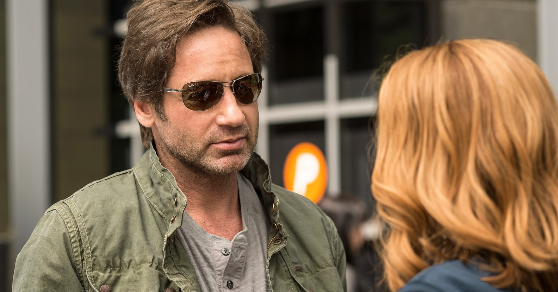 "Gillian Anderson and David Duchovny on FOX's ""The X-Files"""