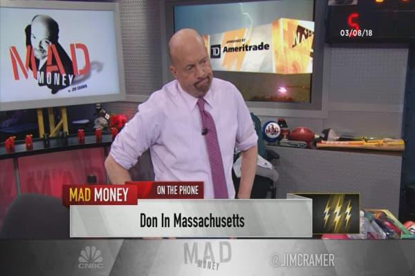 Cramer's lightning round: I can't find a reason to buy Kraft Heinz