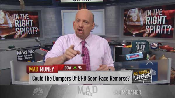 Cramer: Buy Jack Daniels maker Brown-Forman on growth prospects, global appeal