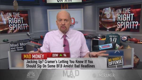 Cramer: Why investors should look at Jack Daniels maker Brown-Forman