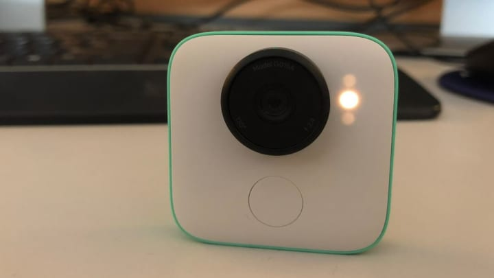 Recording with the Google Clips camera